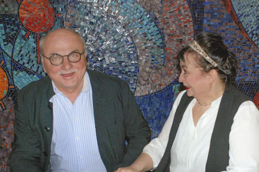 Prof. Dr. Dr. Günter Niklewski und Lizzy Aumeier