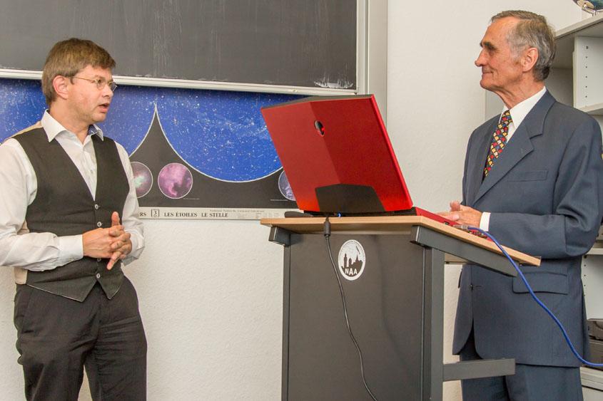 Helmut Fink und Prof. Dr. Bernd Schmidt