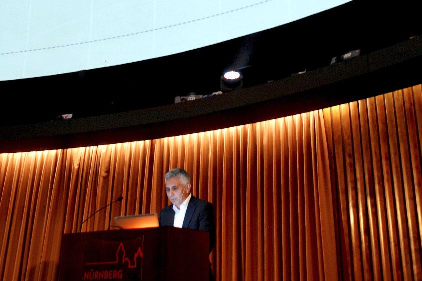 Prof. Dr. Andreas Feigenspan im Planetarium Nürnberg