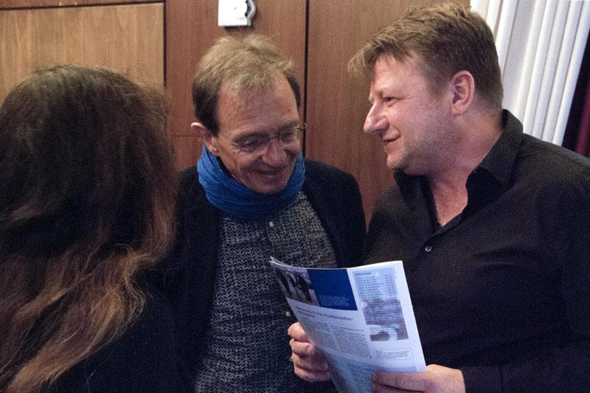 Dietmar Fischer und Dr. Rainer Rosenzweig