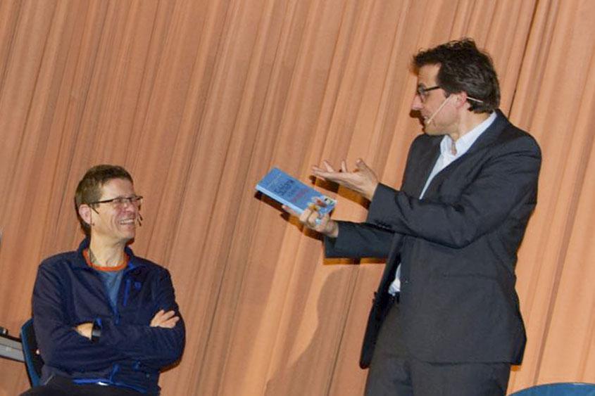 Prof. Dr. Martin Korte und Thomas Fraps