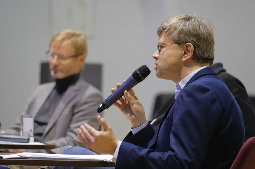 Dr. Frank Vogelsang und Helmut Fink