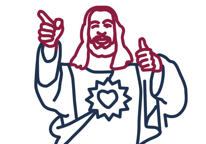 »Buddy Christ«-Figur