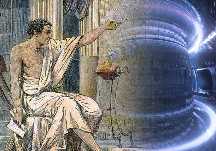 »Alexander und Aristoteles« (Charles Laplante); Ausschnitt/Composing